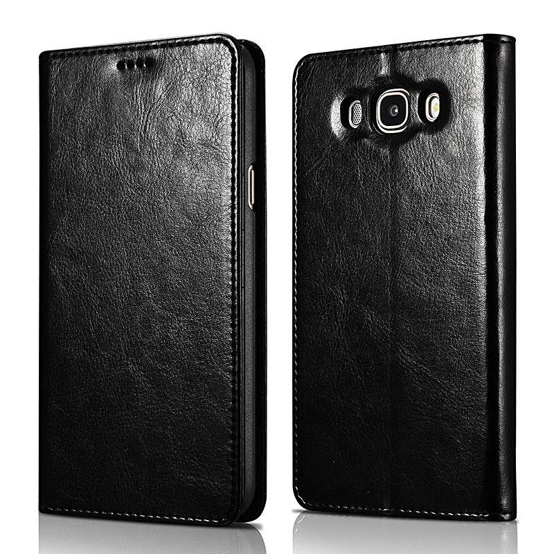 SAMSUNG J7⑥ PU Wallet Case Book Design and Magnetic Closure with Folio Cover and Stand