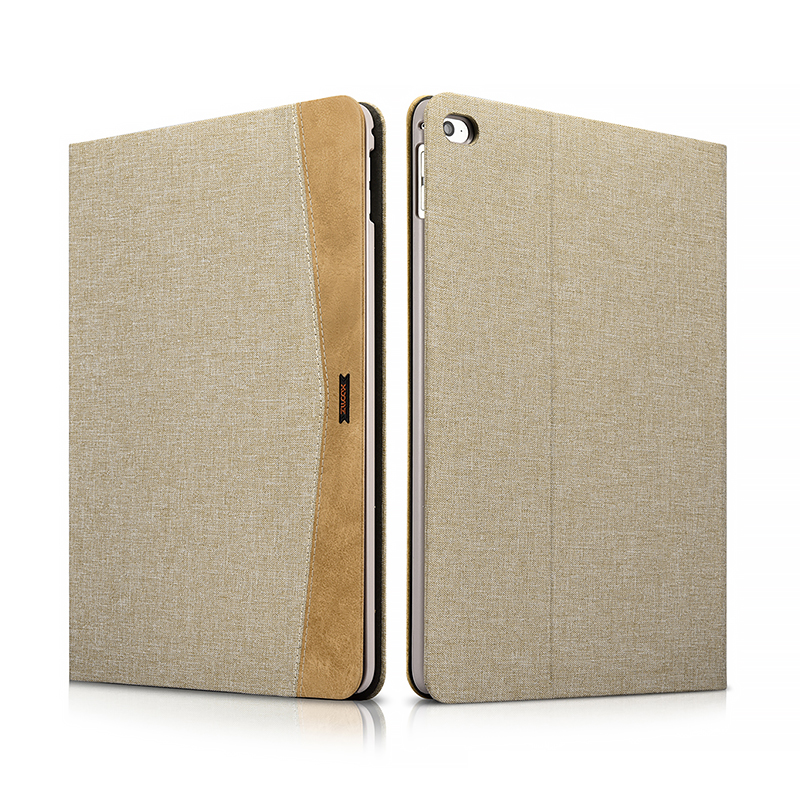 iPad Air 2 Simple Fabric Material Made Folio Cover Erudition Series