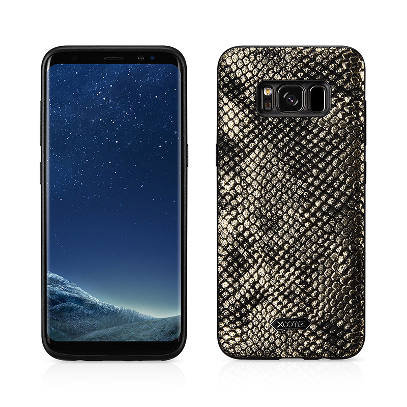 SAMSUNG S8 Plus Python PU Leather Back Case