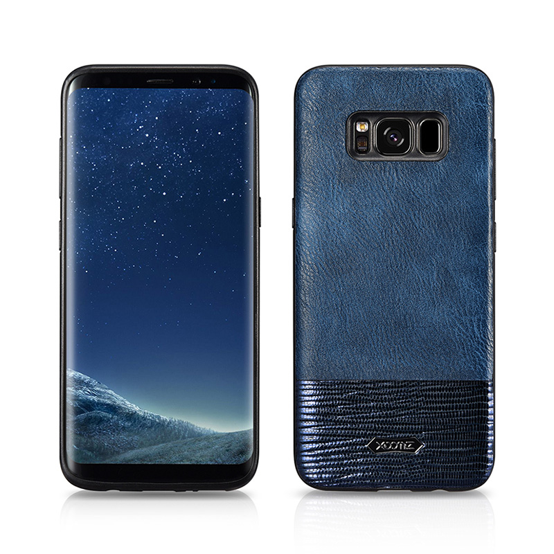 SAMSUNG S8 Plus Splicing Brilliant  PU Leather Back Cover