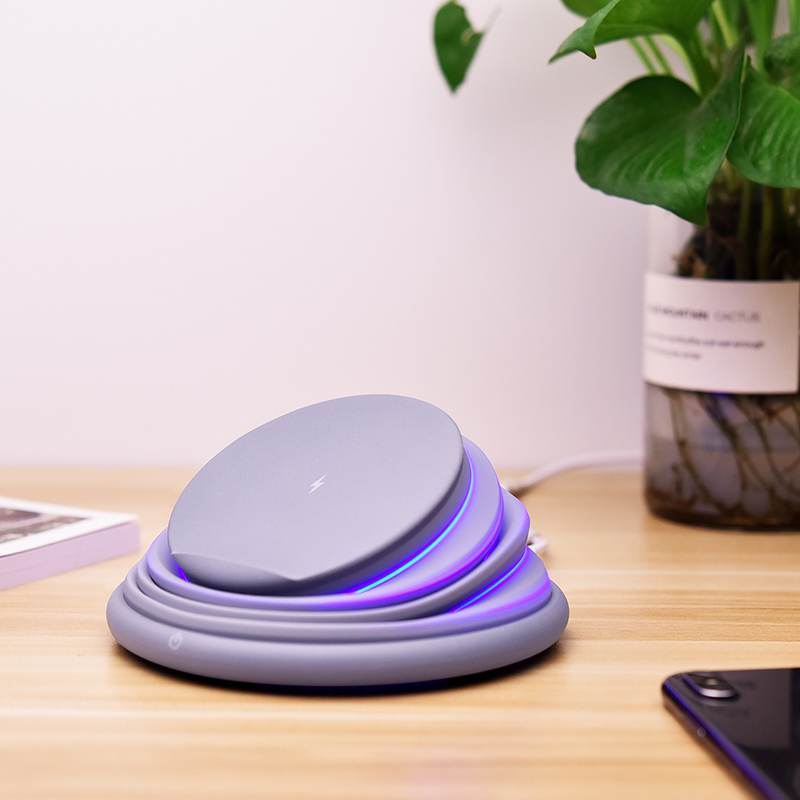 S18 Foldable Matte Wireless Charging Stand